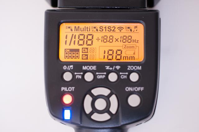 YN560-III アクティベートイメージ画像