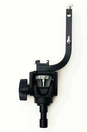 SD HOLDER+ワンウェイ雲台+ダボ、組付けイメージ