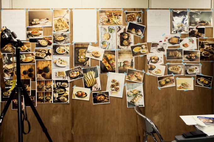 沢山の写真の展示